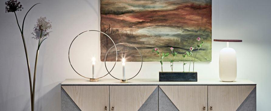 Klong svensk design av ljusstakar och vaser