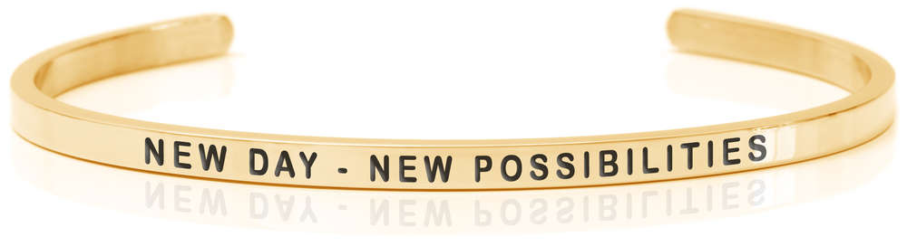 Daniel Sword armring New Day New Possibilities gold