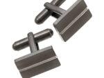 Edblad mancettknapp line cufflinks black 41630076