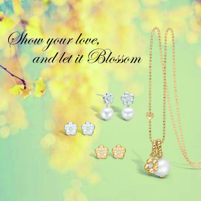 Blossom smycke i silver