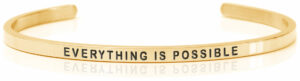 Daniel Sword armring Everything is possible gold