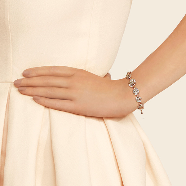 Lily and Rose SIENNA 50535 armband LIGHT SILK