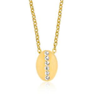Blomdahl allergi vänliga halsband i Guld