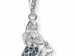 Thomas Sabo jungfru i silver med blå stenar