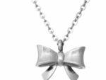 Ingnell Molly deluxe halsband rosett i stål