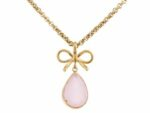 Ingnell Molly gold-pink halsband