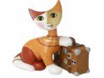 Katt med resväska Goebel