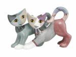 Goebel Meneo och Alma katter